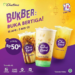 chatime indonesia, chatime mango stikcy rice
