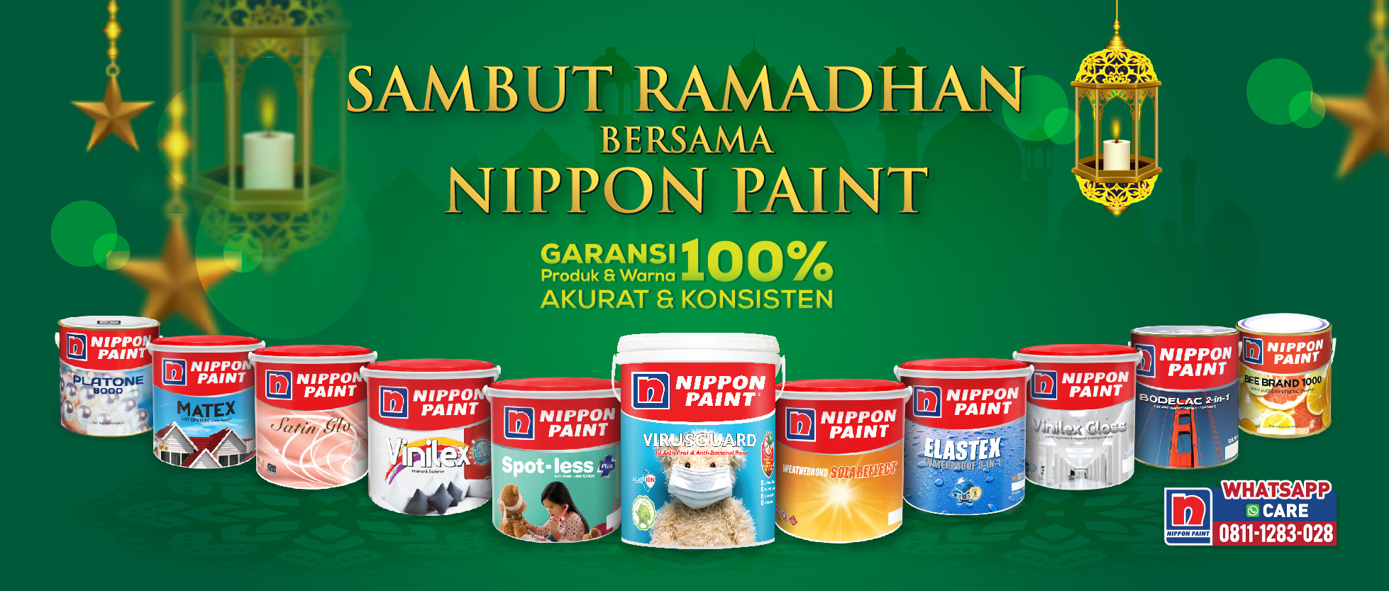 nippon paint spot less, nippon paint anti bakteri