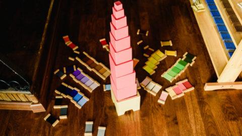 pink tower, pink tower montessori